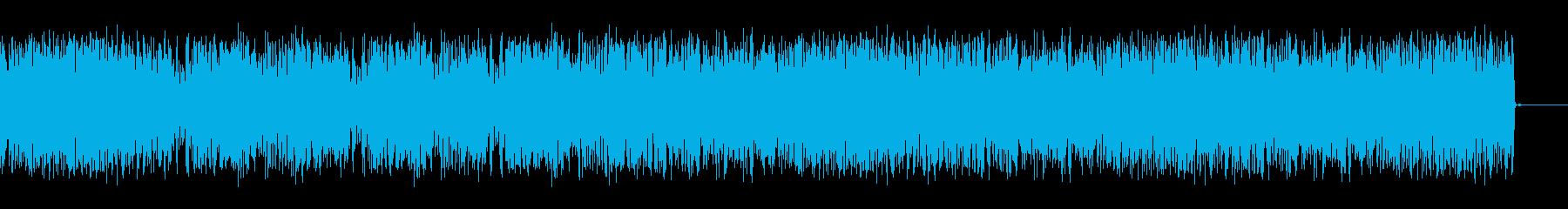 ホイッピング静的スワイプ7の再生済みの波形