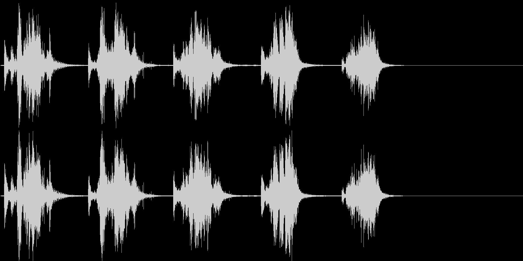 シャベルスクラップ;メタリックラト...の未再生の波形