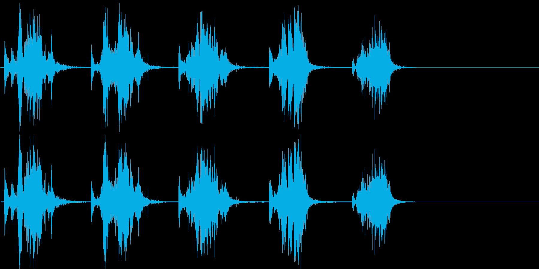 シャベルスクラップ;メタリックラト...の再生済みの波形