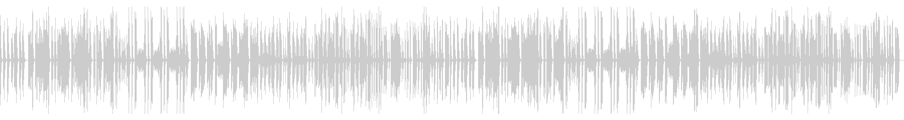 Slow and simple comical song's unreproduced waveform