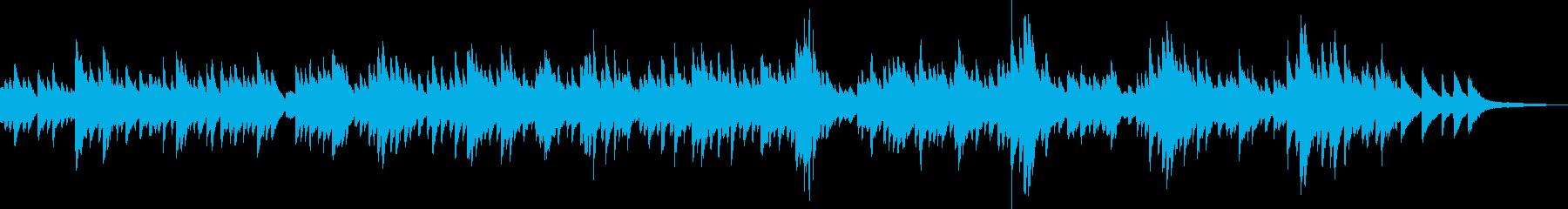 新生活の始まり(ピアノ、爽やか、切ない)の再生済みの波形