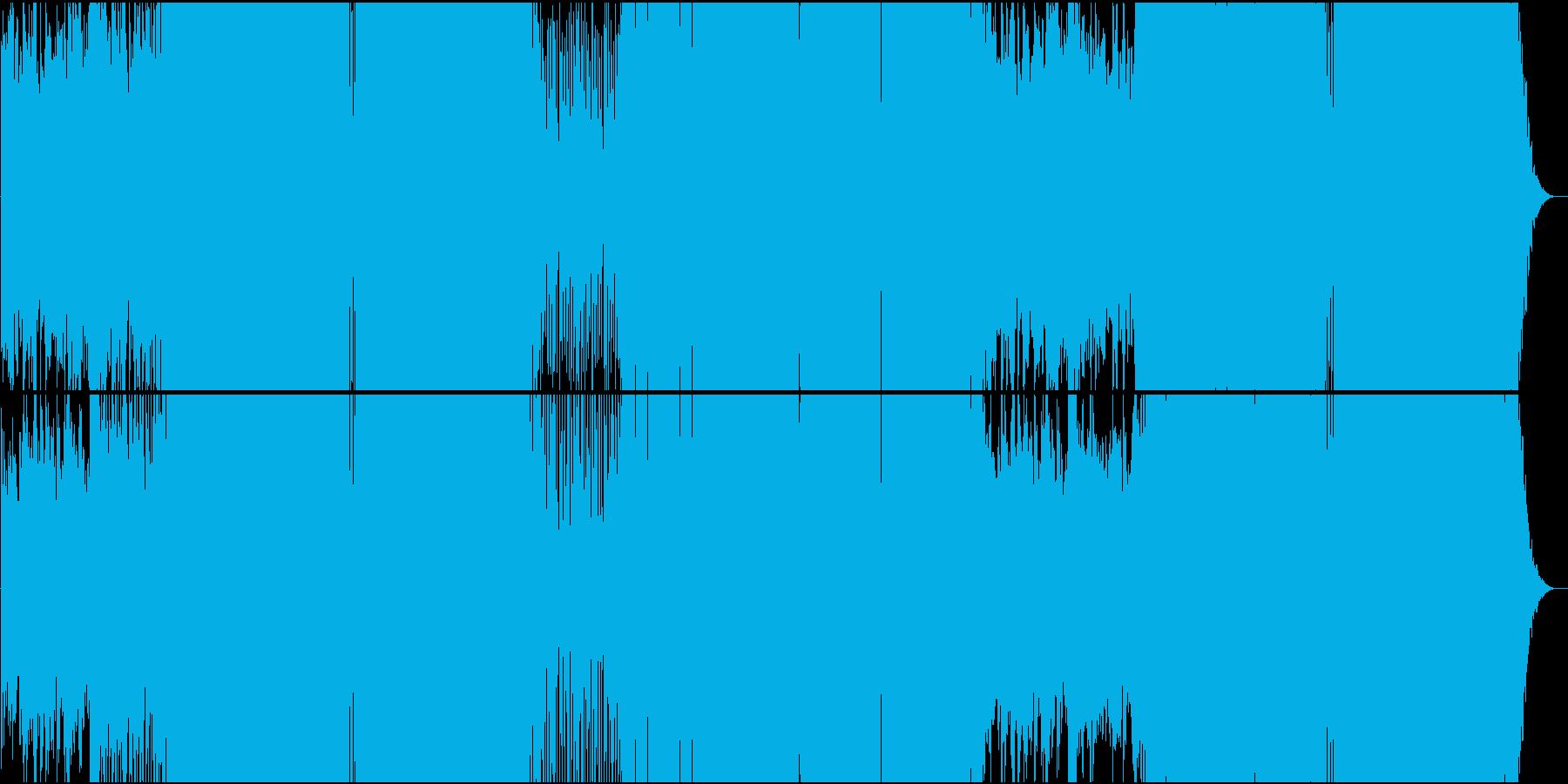 クラシカルで起伏の激しいEDMの再生済みの波形
