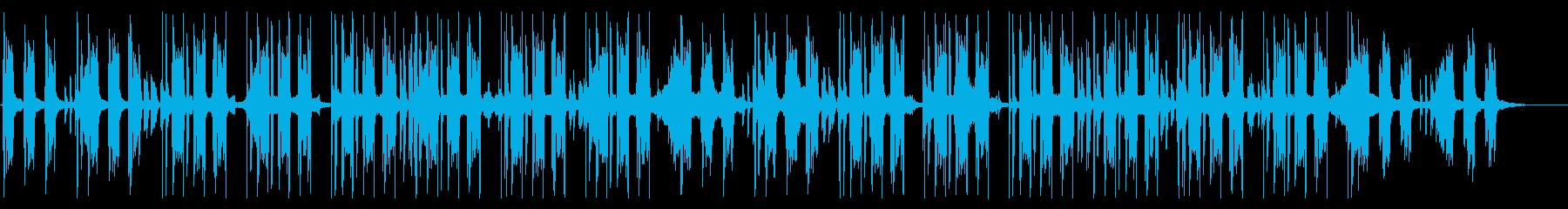 スタイリッシュで穏やかなHIPHOPの再生済みの波形