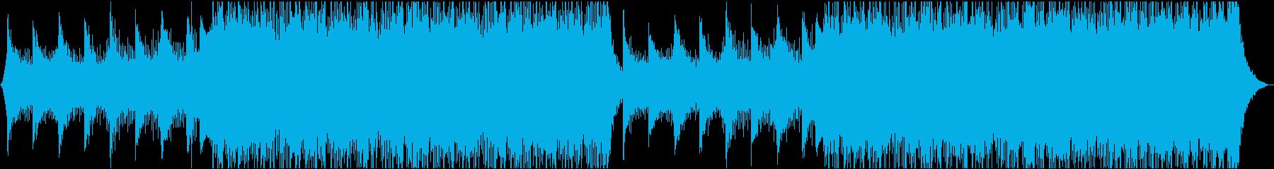 テクノロジーアーバンタイムラプスの再生済みの波形