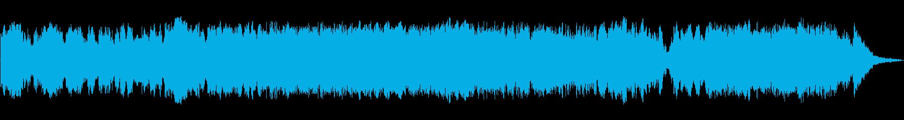 シンセサイザーで奏でるバロック調の再生済みの波形