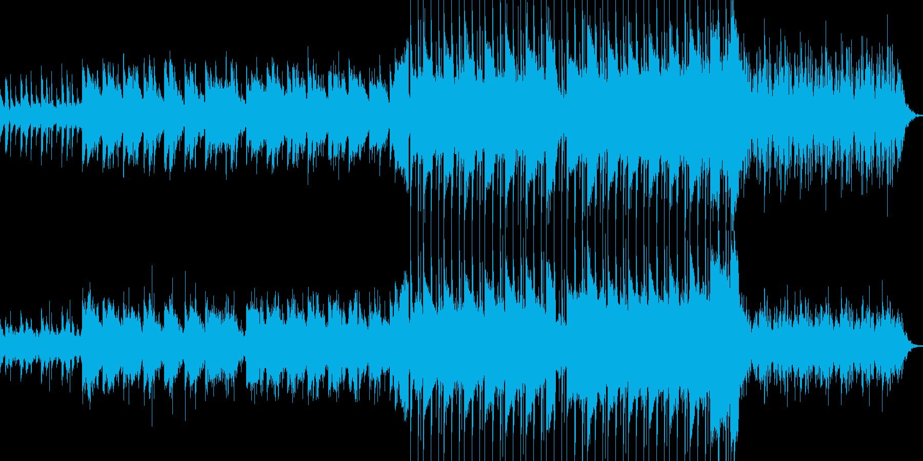 エレクトロでダークな感じですの再生済みの波形