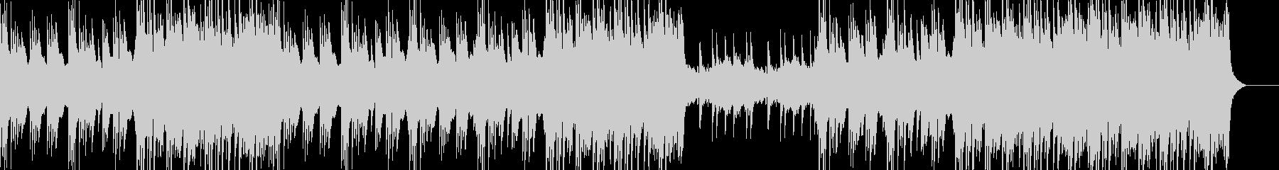 ハープのフレーズが特徴的な曲の未再生の波形