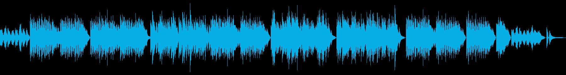 ピアノで癒やす優しく明るいユーモレスク の再生済みの波形