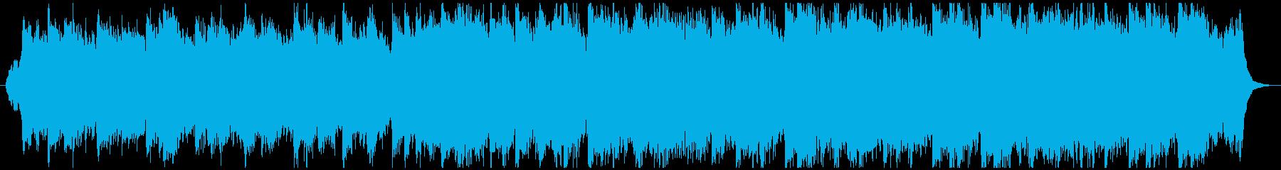 ヒーリング結婚式 美しいバラードワルツhの再生済みの波形