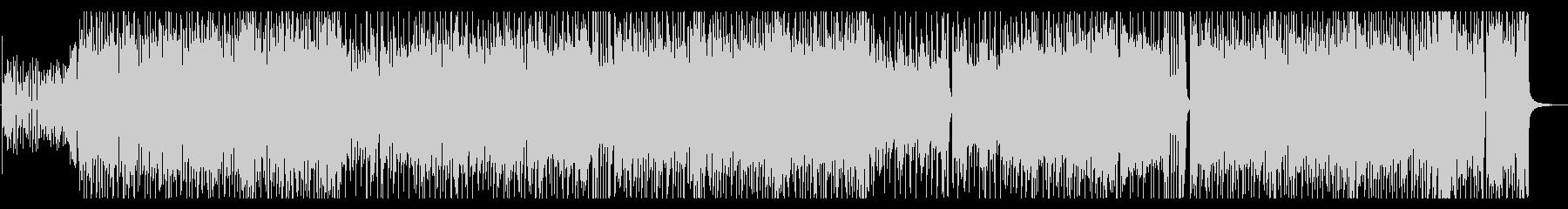 シンプルでノリの良いロックの未再生の波形