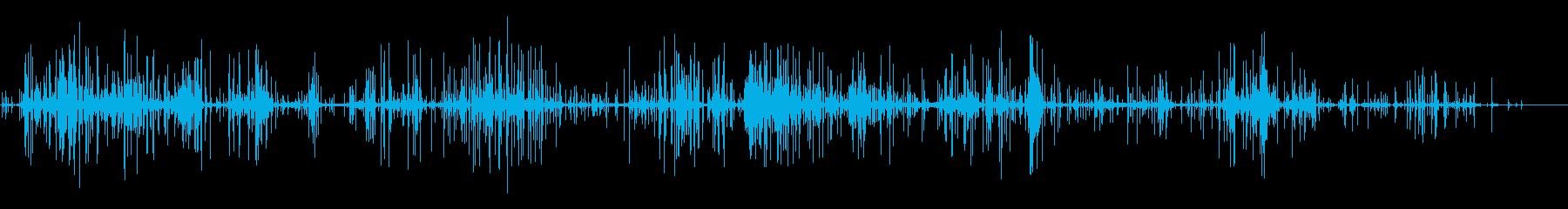 カリカリ携帯電話ボックスプラスチッ...の再生済みの波形
