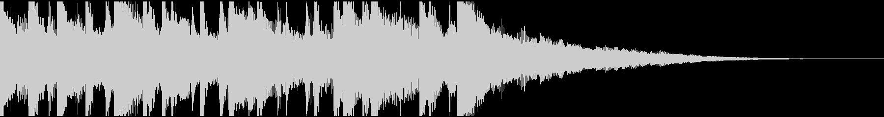 ウクレレ、リコーダーの楽しい楽曲15秒Bの未再生の波形