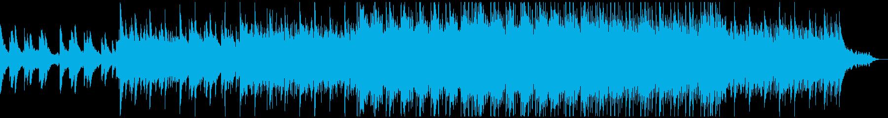 コンセプトムービー、アンセム風感動CMの再生済みの波形