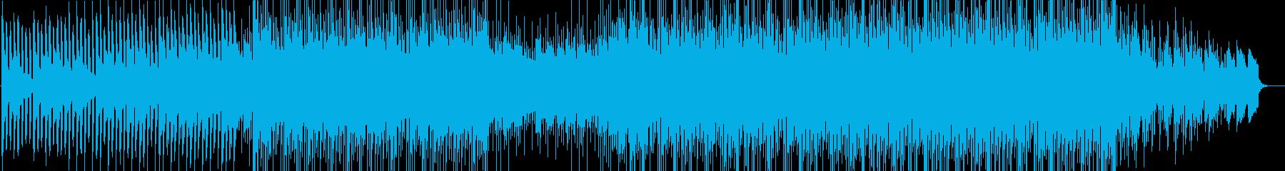 ピアノサウンドと共に映像に疾走感をの再生済みの波形