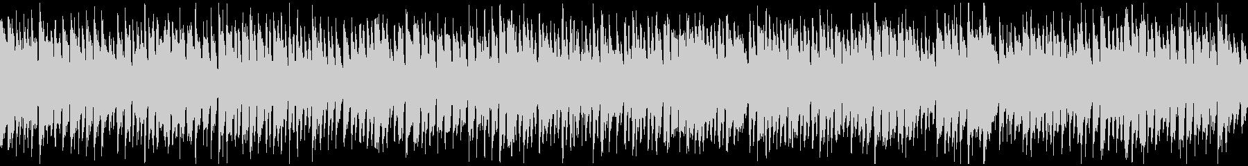 ウキウキ陽気で元気なリコーダー※ループ版の未再生の波形