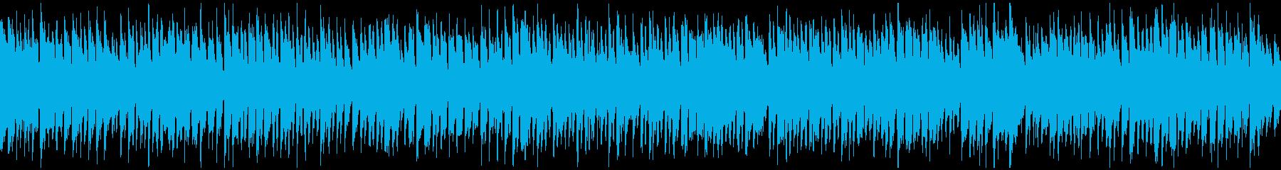 ウキウキ陽気で元気なリコーダー※ループ版の再生済みの波形