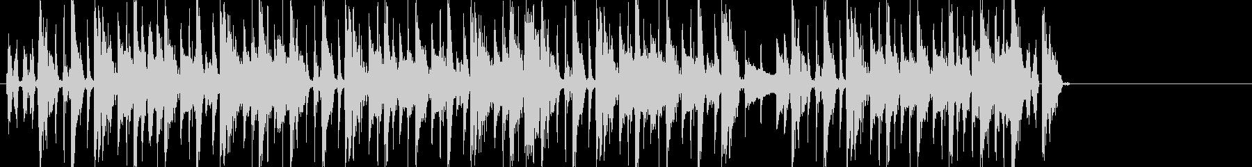 ブレイクビーツ+カッティングギターのんの未再生の波形