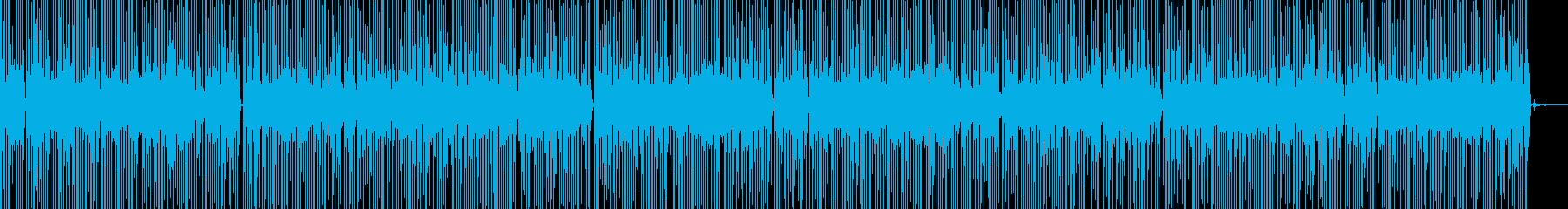 テンションコードのミニマルミュージックの再生済みの波形