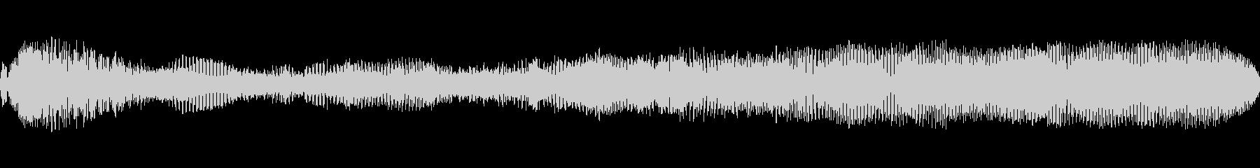 ウォームフランジングドローンの未再生の波形