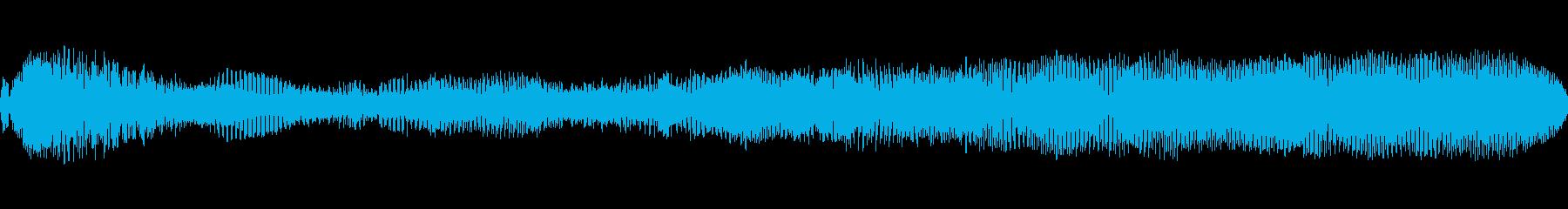 ウォームフランジングドローンの再生済みの波形