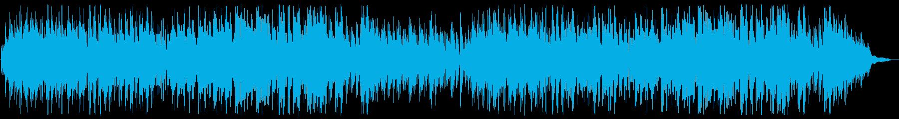 リラックスできるジャズボサノバの再生済みの波形
