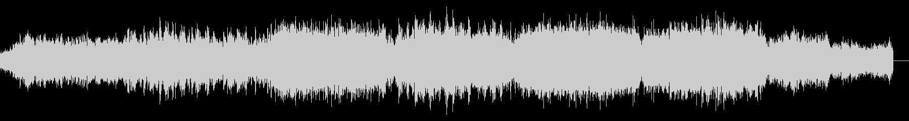 SFサスペンスなアンビエントIDMの未再生の波形