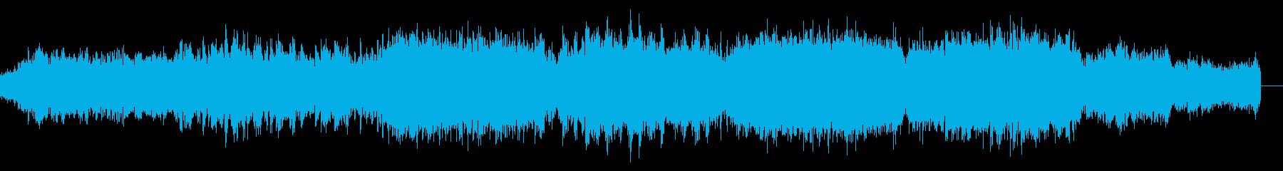 SFサスペンスなアンビエントIDMの再生済みの波形