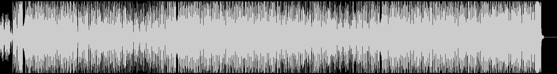 ほのぼの可愛いエレクトロなポップスの未再生の波形