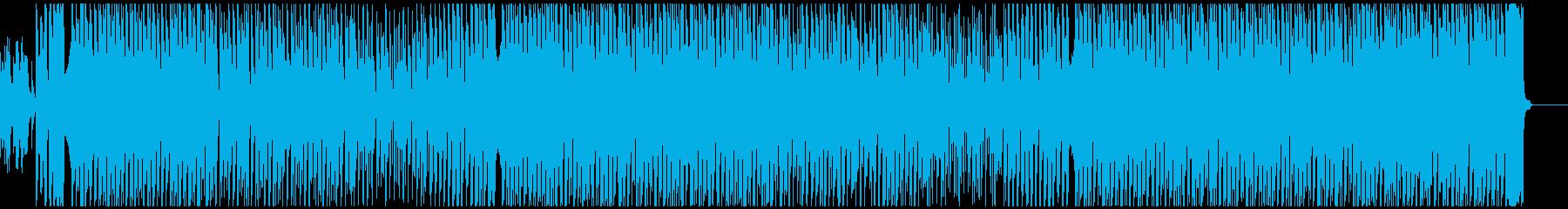 ほのぼの可愛いエレクトロなポップスの再生済みの波形
