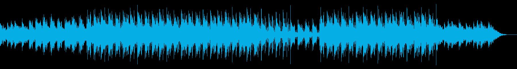 リラックスできる癒しのチルBGMの再生済みの波形