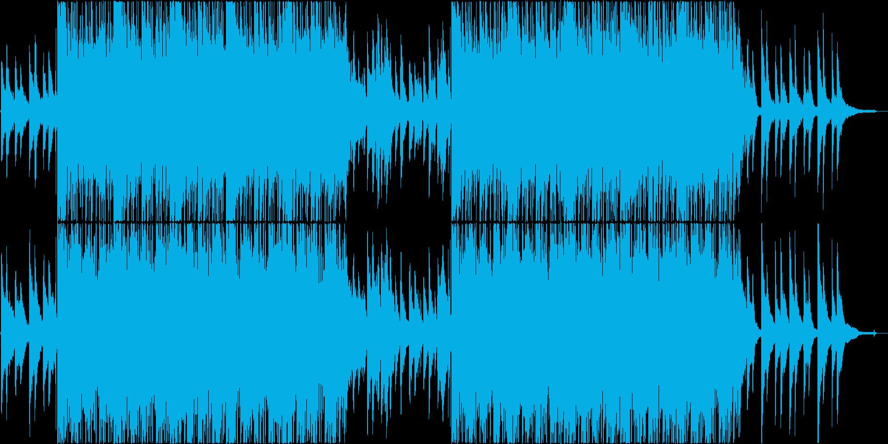 おしゃれ8の再生済みの波形