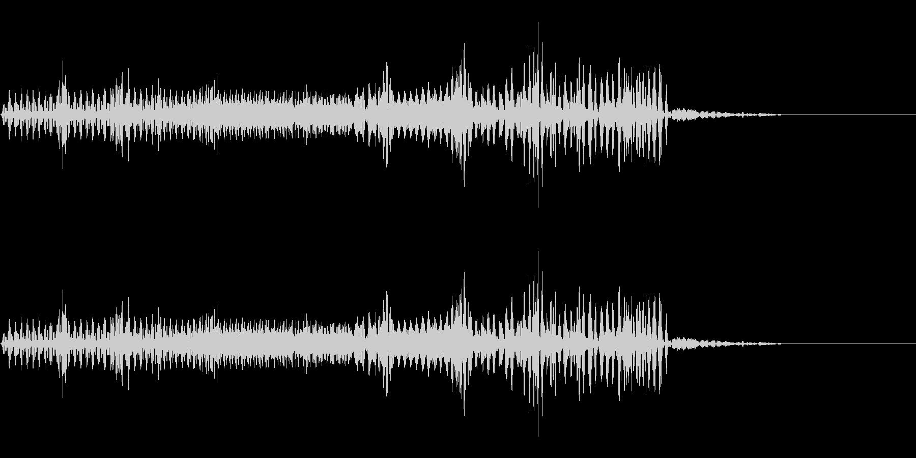 【SE 効果音】不気味な音15の未再生の波形