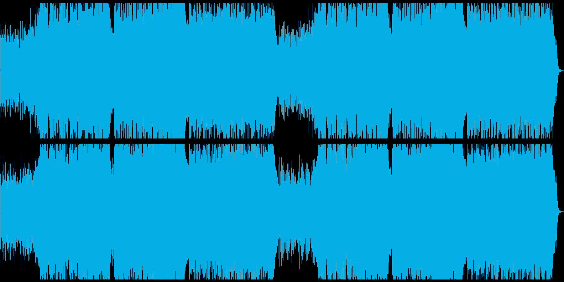 幻想的で淋しげな曲の再生済みの波形