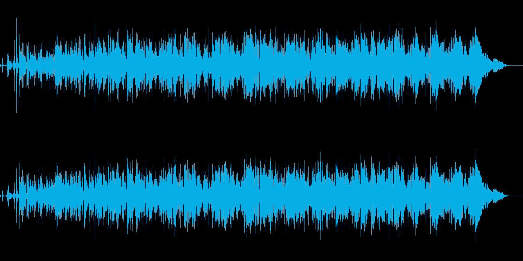 生演奏テナーサックスとアコギのボサノバの再生済みの波形