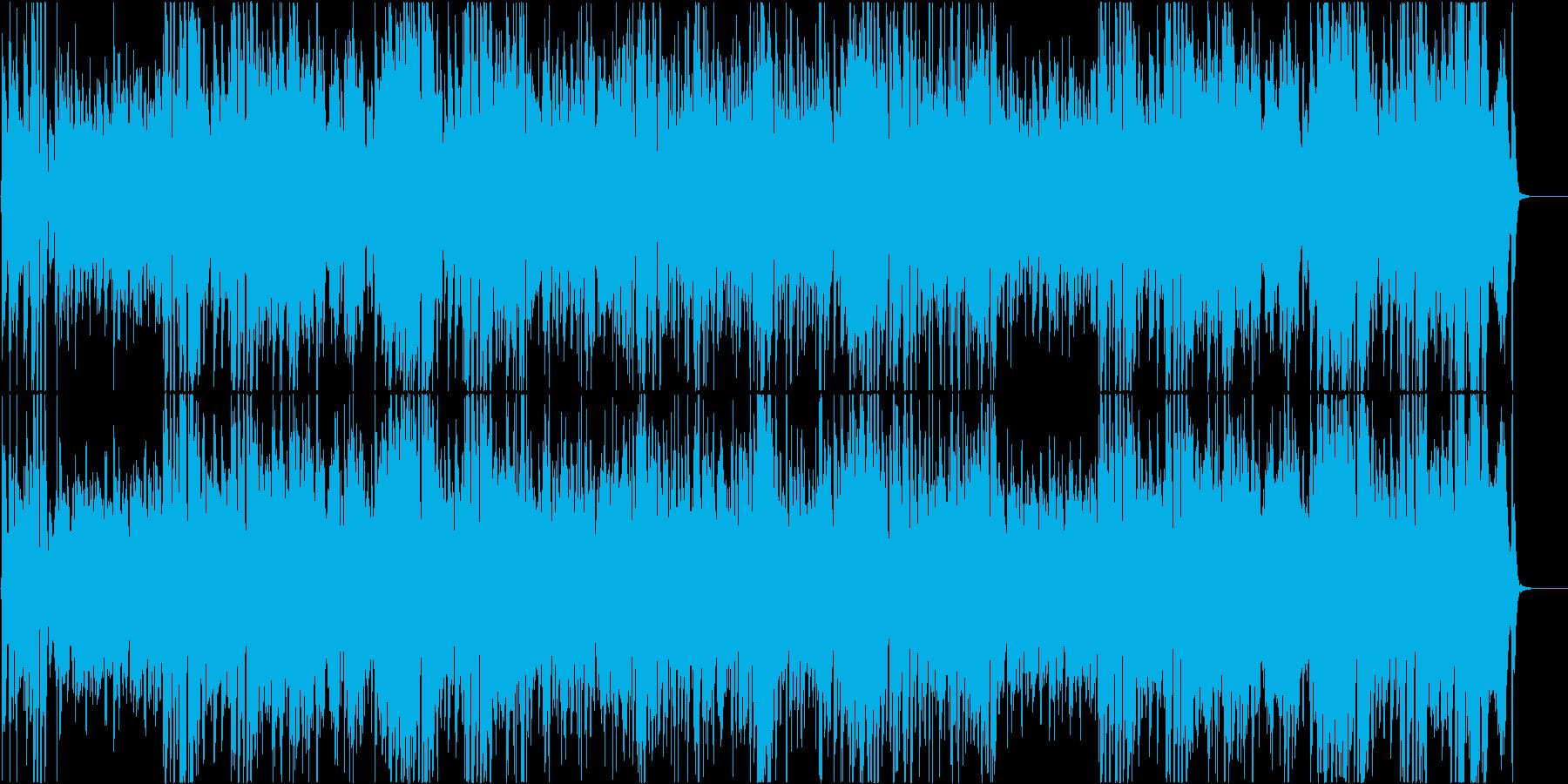 ジャズ調のおしゃれなハロウィンナイトの再生済みの波形