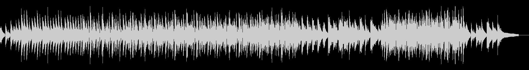 ラテンっぽい 軽快シャレオツ+ピアノ曲の未再生の波形
