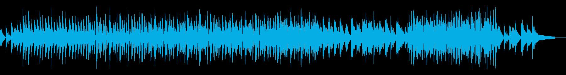 ラテンっぽい 軽快シャレオツ+ピアノ曲の再生済みの波形