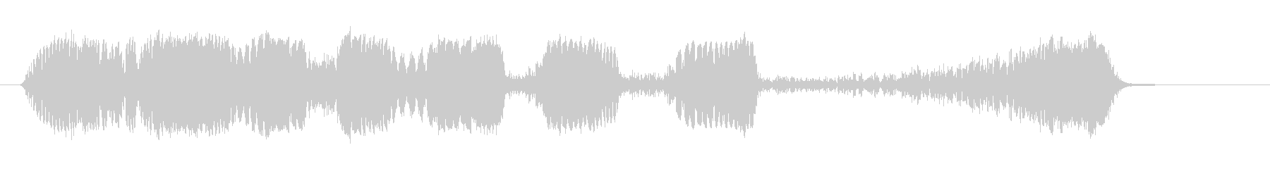 ショートラジオリバース3の未再生の波形