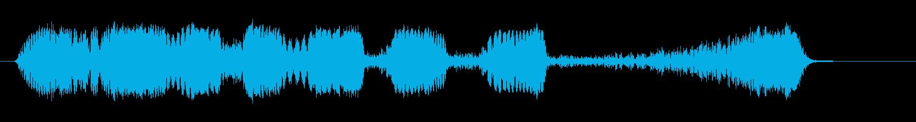 ショートラジオリバース3の再生済みの波形