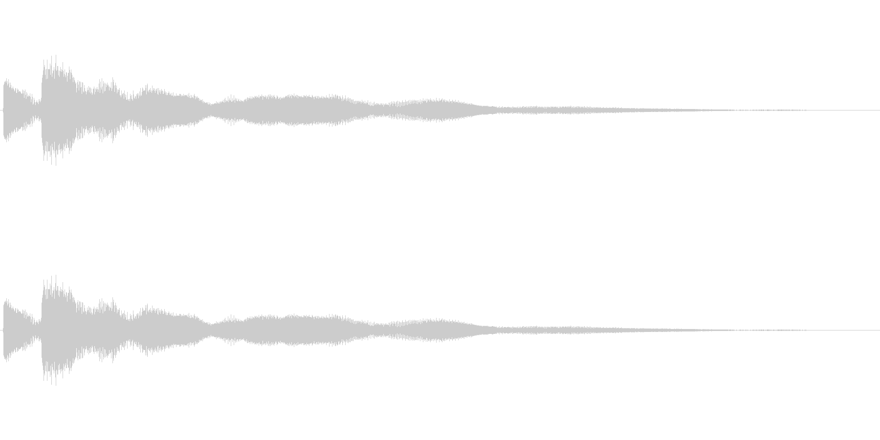 [キラン]コイン・アイテム獲得の未再生の波形