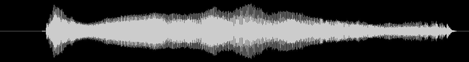 鳴き声 リトルガールクライアー01の未再生の波形