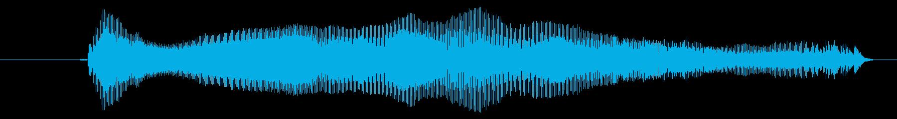 鳴き声 リトルガールクライアー01の再生済みの波形