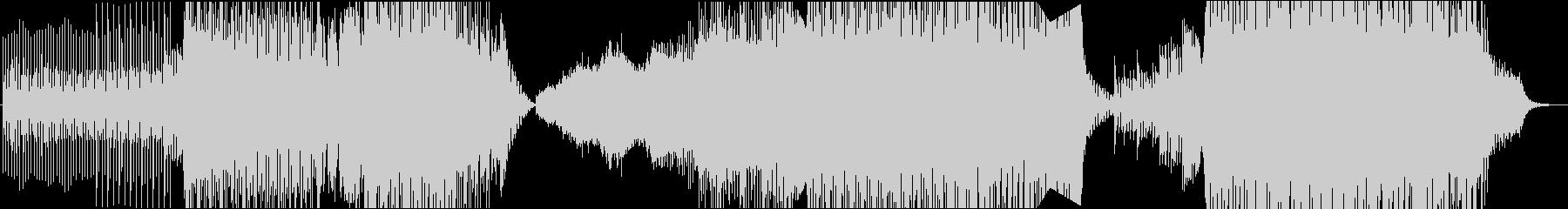 トランスBGM、EDM、ダンスフロアの未再生の波形