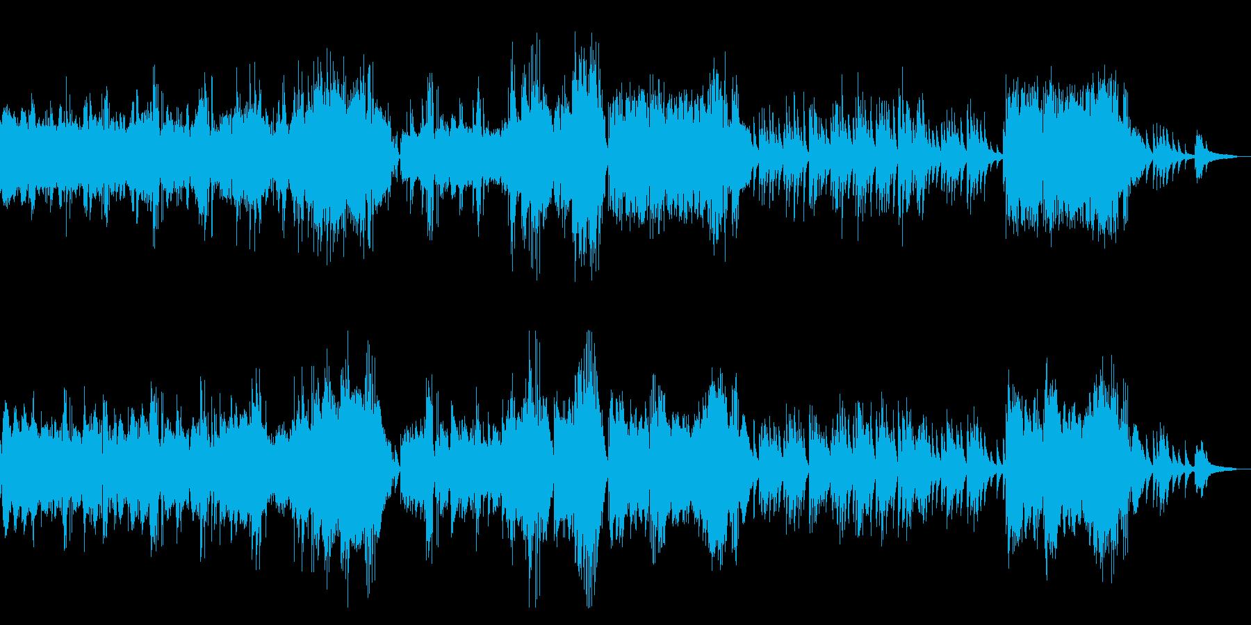 アンダンテ・スピアナート ショパンの再生済みの波形