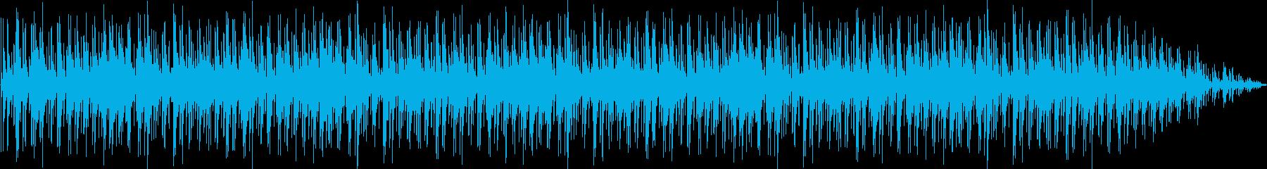 ジャズボッサインスト光の流れに優し...の再生済みの波形