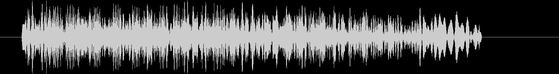 場面転換_歯切れの良いDJスクラッチ音1の未再生の波形