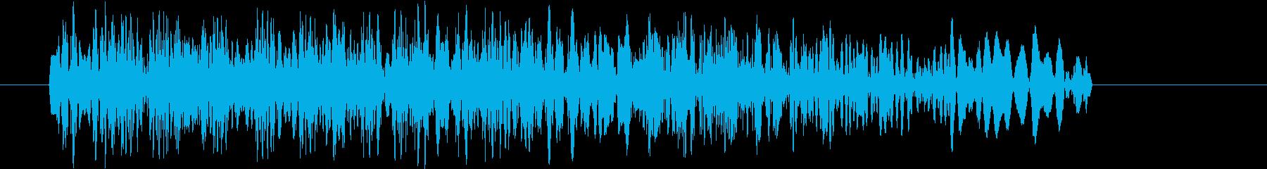 場面転換_歯切れの良いDJスクラッチ音1の再生済みの波形