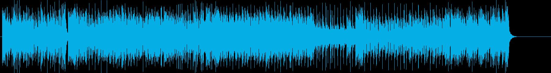 ファイティングに立ち向かうイメージの再生済みの波形