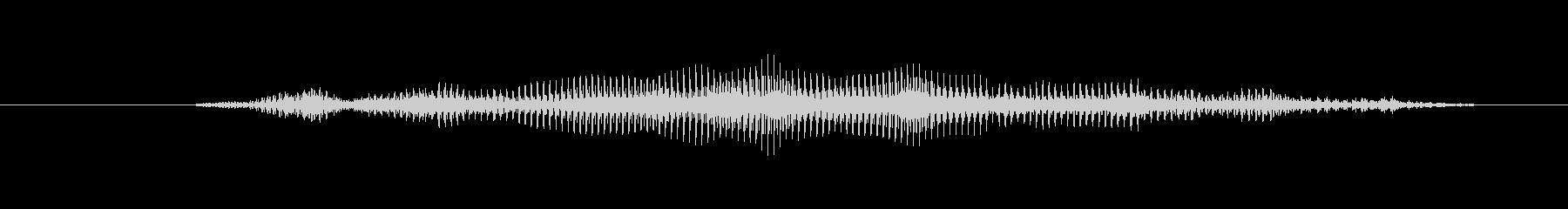 ヤギ バアマレ07の未再生の波形