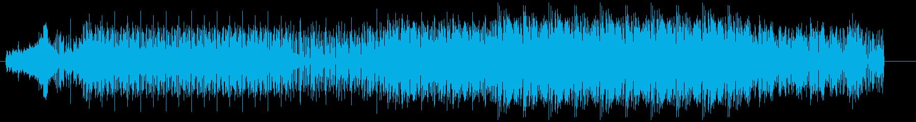 ノリの良い痛快エレクトリックファンクの再生済みの波形